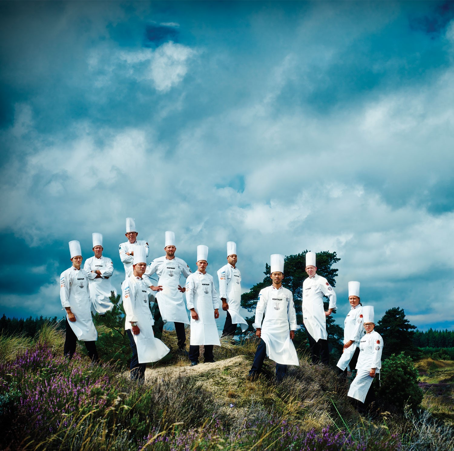 KENTAUR IS SPONSORING THE NATIONAL DANISH CHEFS TEAM